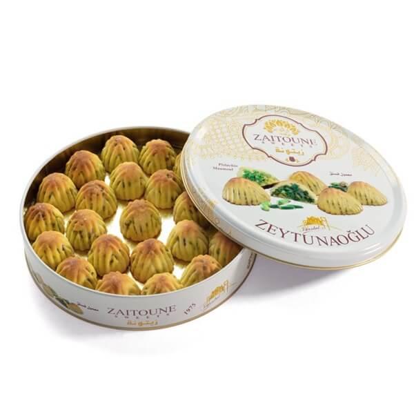 500 pistachio mamoul zaytonnih