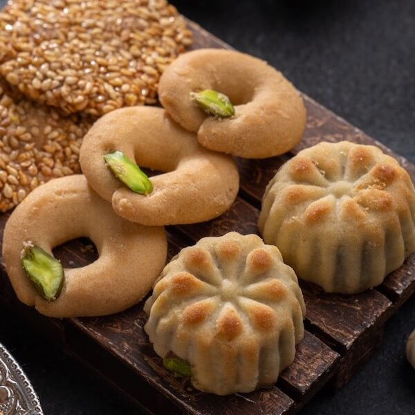 damascene cookies mix aram